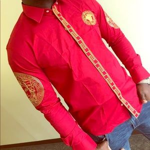 """VERSACE COLLECTION SLIM FIT- """"Cherry"""""""